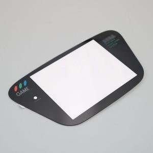 Image 4 - 1pcs di trasporto di Vetro Nero Per Sega Game Gear Protezione Dello Schermo di Ricambio GG Display Lens