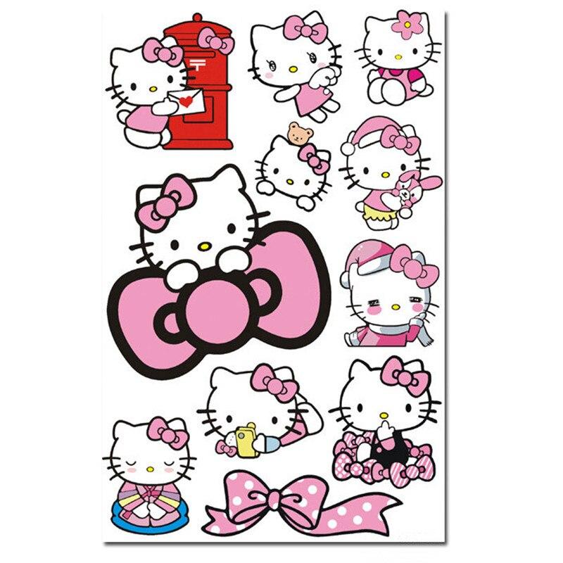 Vinilos Hello Kitty Pared.Pegatinas De Dibujos Animados Para Coche Pegatinas De Vinilo