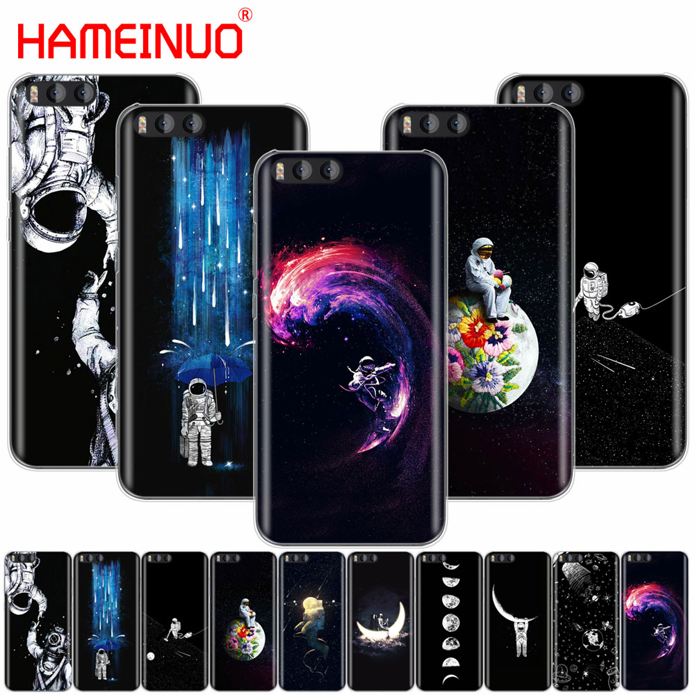 Hameinuo Space Love Moon Astronaut Cat Cover Case For Xiaomi Mi 3 4 5 5s 5c 5x 6 Mi3 Mi4 4i 4c Mi5 Mi6 Note Max 2 Mix Plus Phone Bags & Cases Cellphones & Telecommunications