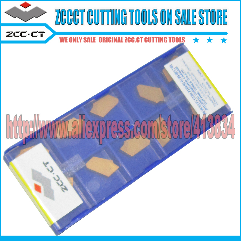 Free Shipping 50pcs ZCCCT ZQMX3N11 1E YBC251 Carbide insert metal lathe Cutter tools parting tool cutters