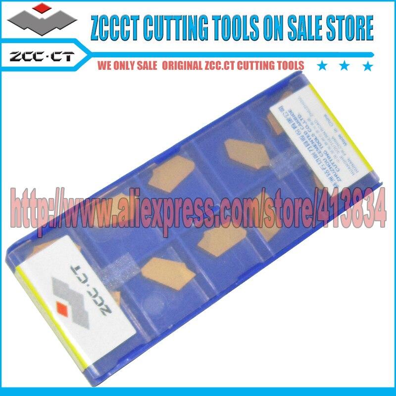 Free Shipping 50pcs ZCCCT ZQMX3N11 1E YBC251 Carbide insert metal lathe Cutter tools parting tool cutters