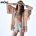 Novo 2017 Estilo Coreano Mulheres Blusa Sexy Floral Impressão Chiffon quimono Camisas Das Senhoras Túnica Top Plus Size Praia Encobrimento Tops 40423