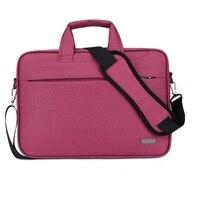 Women Men Briefcase Portale Laptop Case Bag 15 15 6 Inch Thicken Waterproof Nylon Notebook