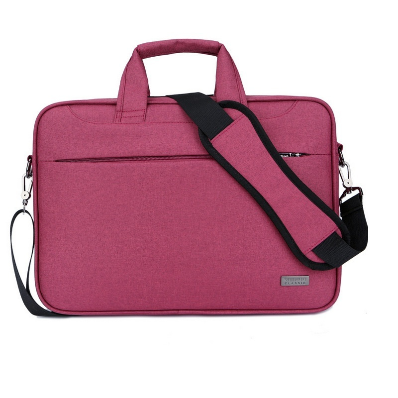 Women men briefcase portale laptop case bag 15 15.6 Inch Thicken Waterproof Nylon Notebook Bags Case handbag Messenger bag