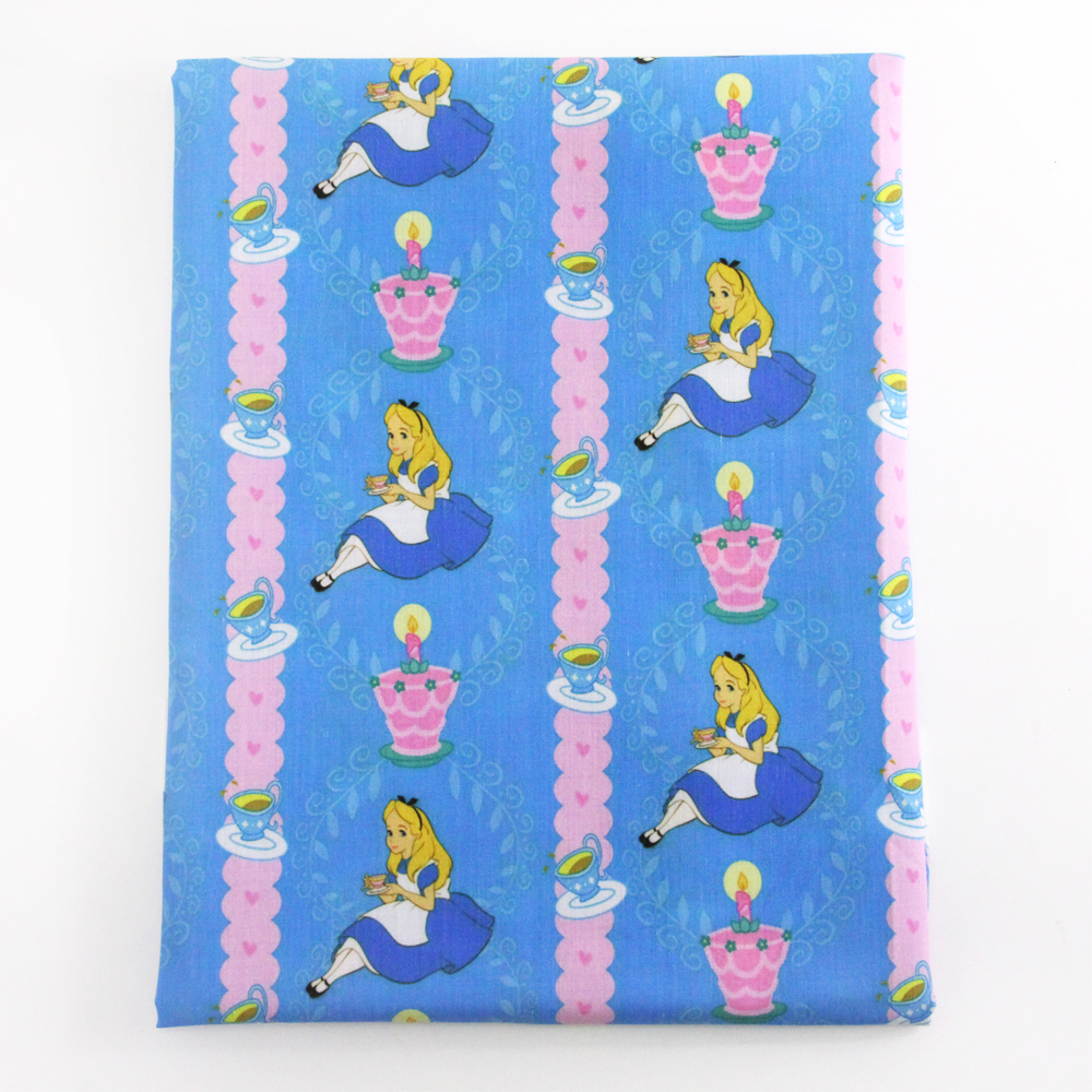 50*145 cm patchwork impresa tela para Tejido de poliéster y algodón Niños ropa d