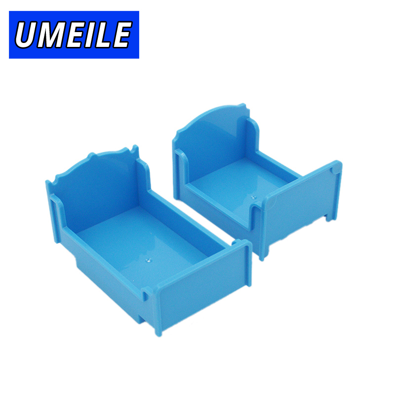 UMEILE Brand Bed Building Block Kids Play House Game Toys Compatible With Duplo
