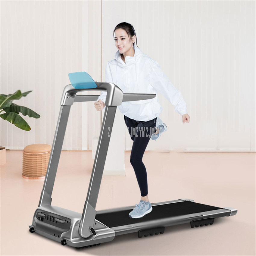 Sports & Entertainment Fitness & Body Building Q2s 1000w Household Foldable Mini Treadmill Led Touch Screen Shock Absorption Treadmill Running Training Fitness Equipment 220v Traveling