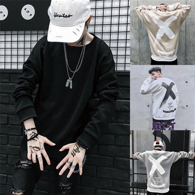 6b7954657273 Men harajuku korean bts Hoodies New Street style Hip Pop Crew Pullover  Sweats Hip-Hop Fashion Sweatshirt Hoodies