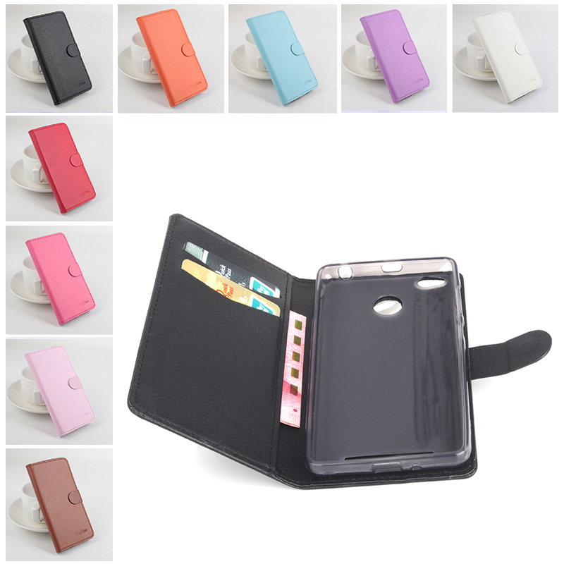 Litchi For Xiaomi Redmi 3 Pro case cover Good Quality Leather Case Back cover For Xiaomi