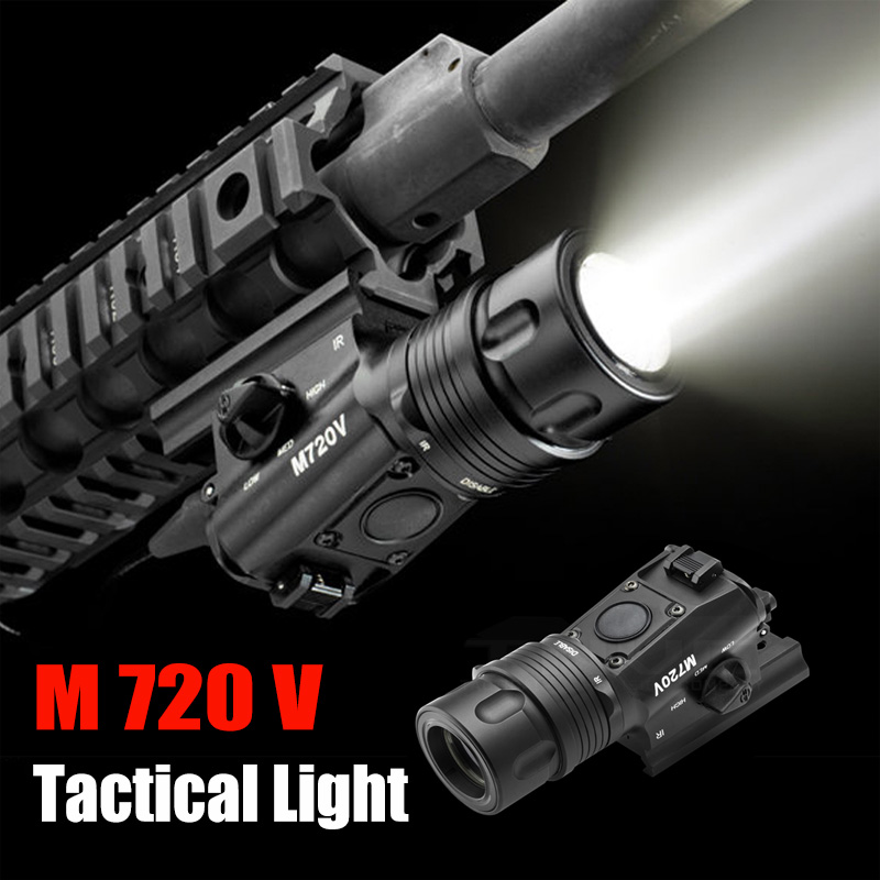 M720V Tactical Light Strobe Output Version Tactical Gun Light with M93 Tactical Light Mount Softair FOR WARGAME  EX273M720V Tactical Light Strobe Output Version Tactical Gun Light with M93 Tactical Light Mount Softair FOR WARGAME  EX273