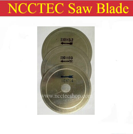 [0.4mm Thickness] 110mm Diamond Electroplated Slit Blade Saw Blade FREE Shipping |4.4'' Granite Concrete Joint Cutting Seam Disc