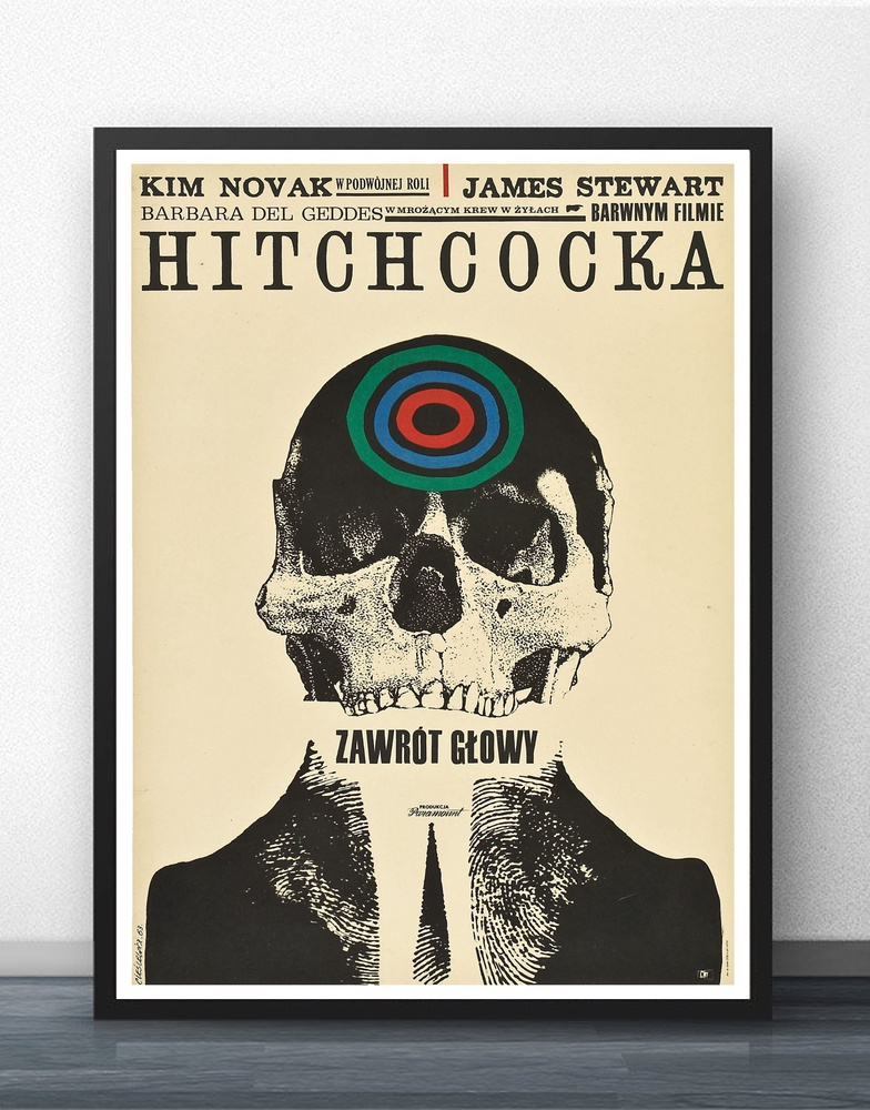 Hitchcock Movie Wall Art Wall Decor Silk Prints Art Poster Paintings for Living Room No Frame image