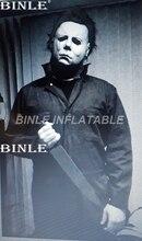 Индивидуальный 30ftH ужас гигантский надувной злой человек надувная фигурка модель для рекламы
