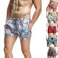 De los nuevos hombres SEOBEAN pantalones cortos imprimir spotrs shorts Hombres Pantalones Cortos de Secado rápido Beach Shorts 6 colores tamaño S/M/L/XL