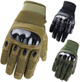 man Sports Airsoft Army Combat full Finger Carbon Hard Knuckle Gloves Tactical US Military Shooting Paintball Anti-skid Gloves