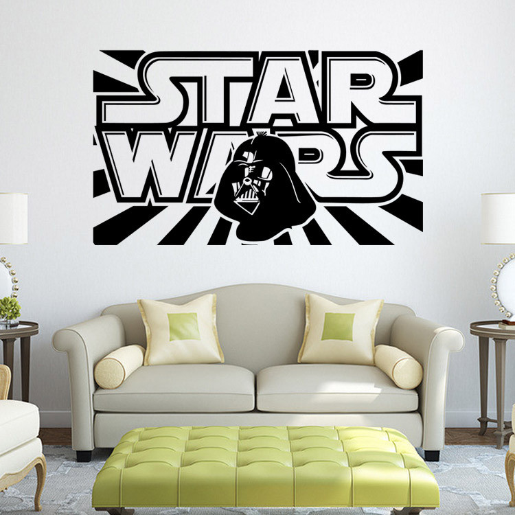 Star Wars Wall Decal With Darth Vader