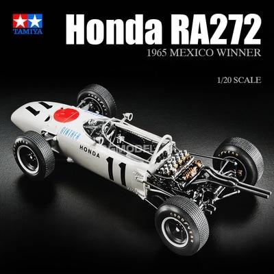 1 20 Scale Assembly Car Model Honda F 1 RA272 1965 Car Model Building Kits DIY