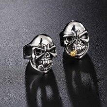 Music Punk Skeleton Ring