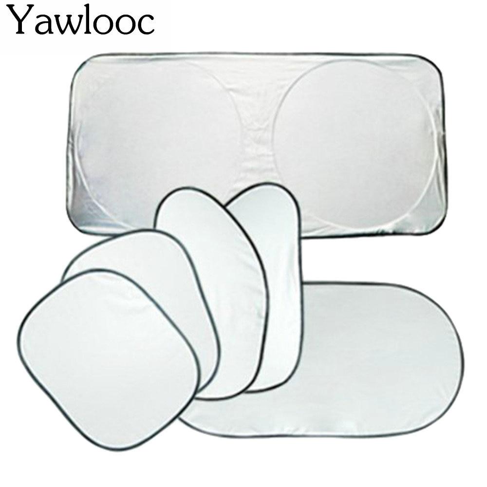 6 PCS LOT Car Accessories Car Window Sun Shade Car Windshield Visor Cover Block Front Window