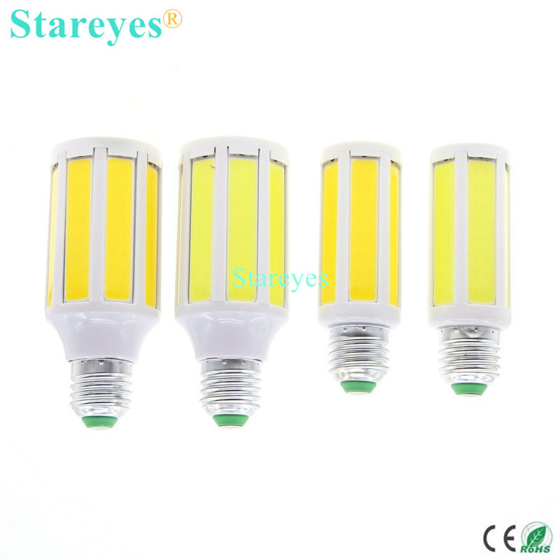 1 Piece High Brightness COB Corn Bulb 7W 12W SMD LED Light E27 E14 B22 Home Kitchen LED Lamp downlight droplight lighting free shipping 30 pcs g24 g23 e27 12w smd 5050 60 led pl corn bulb led plc droplight 930lm led transverse inserted light