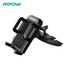 Mpow MCM3 автомобильный держатель ручки Pro Универсальный CD слот Автомобильный держатель подставка для iPhone X/8/ 8 плюс/7/7plus/6s/6 P/5S Galaxy S5