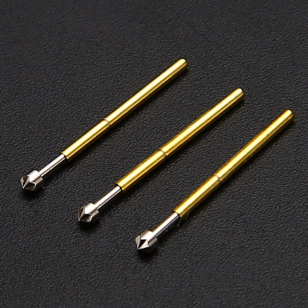 цена на 50pcs P75-LM2 Diameter 1.02mm Spring Loaded Test Probes Spring Pin Receptacle Pogo Pin Tools Set 16.5mm Length