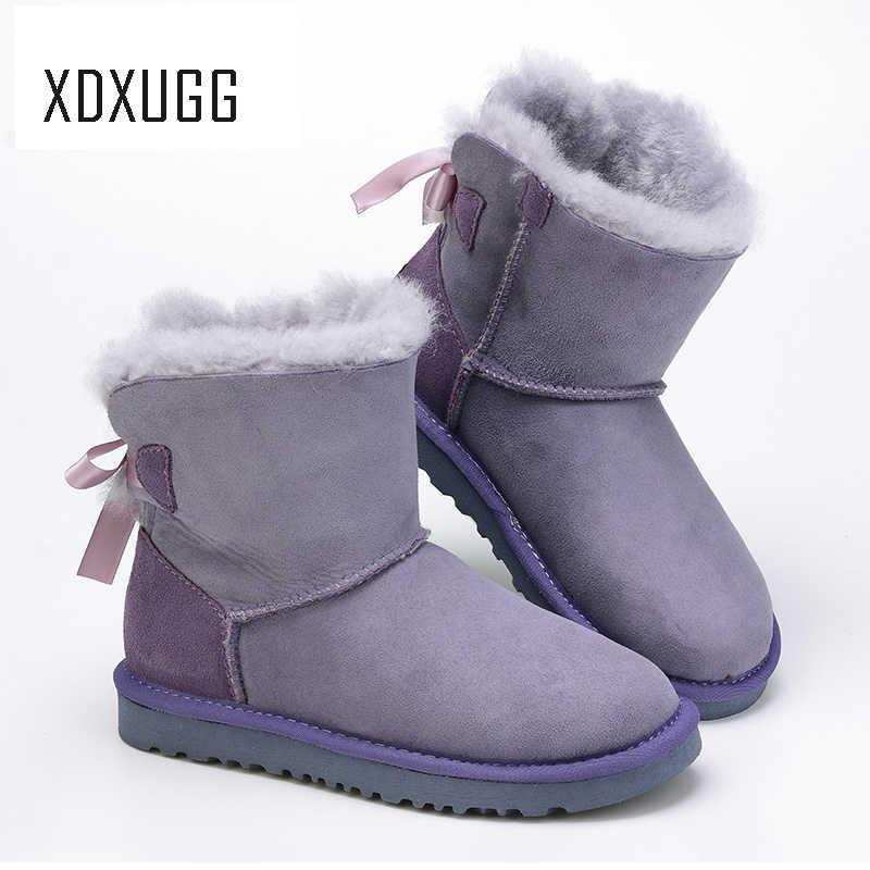 7e1dba5d6b1 Detail Feedback Questions about XDXUGG Women's Shoes Sheepskin ...