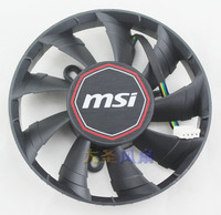 Original MSI 270X GAMING OC ITX 2G FY09015H12LPA N760/R9 video card cooling fan