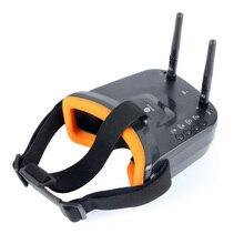 Очки BGNing FPV 3 дюйма, 480x320 дисплей, двойная антенна, 5,8G 40 каналов, Встроенный 3,7 В, 1200 мАч аккумулятор для гоночного дрона