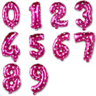 16inch Pink Number D...