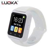LUOKA U80 Smartwatches U Reloj Para iOS Bluetooth Reloj Inteligente iPhone Samsung Huawei Android Teléfonos Bueno como DZ09 GT08 u8 reloj