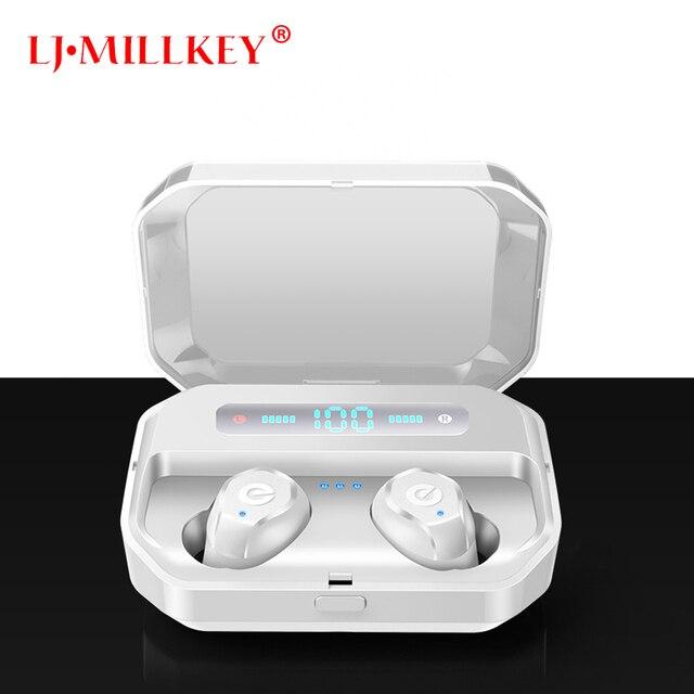 Bluetooth 5.0 Earphones TWS Wireless Headphones Blutooth Earphone Handsfree Headphone Sports Earbuds Gaming Headset Phone YZ253