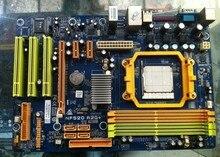 Бесплатная доставка 100% оригинал материнская плата для Biostar NF520 A2G + AM2AM2 + DDR2 RAM 16 Г Материнская Плата Для Настольных Пк