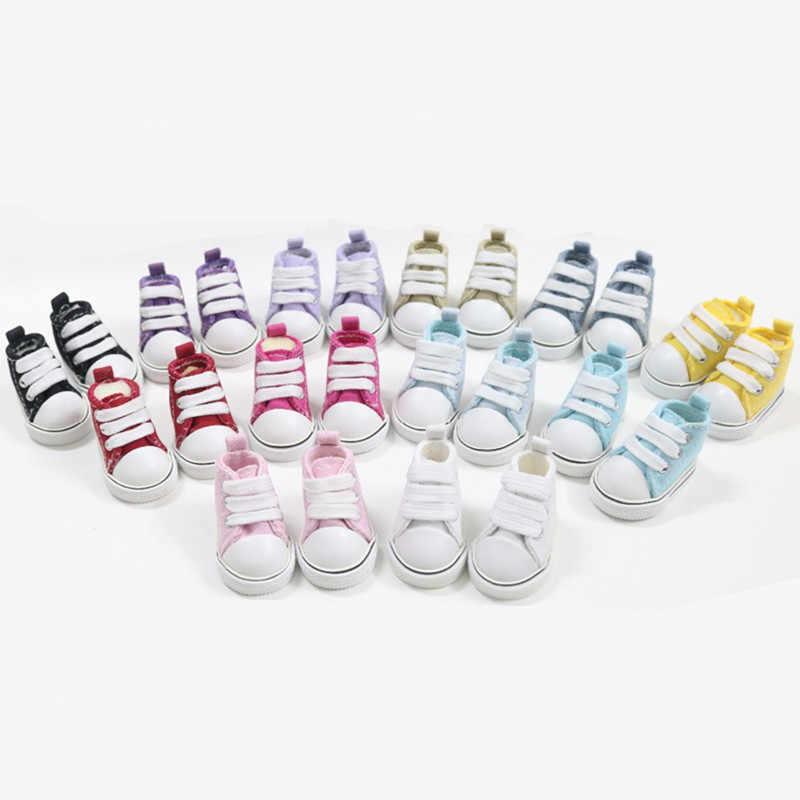 BEIOUFENG 5 см кроссовки обувь 1/6 BJD обувь для ручной работы интерьера куклы аксессуары, мини кукольная обувь для спортзала Перчаточная кукла
