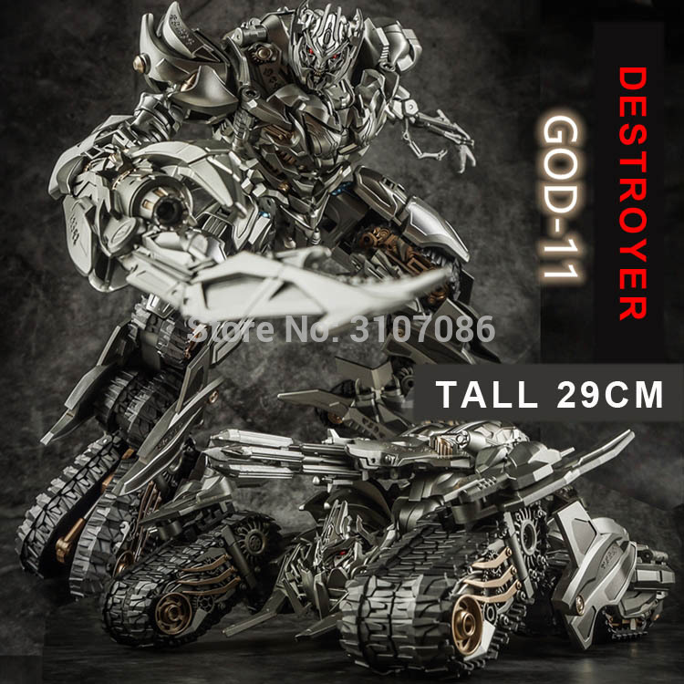 Oyuncaklar ve Hobi Ürünleri'ten Aksiyon ve Oyuncak Figürleri'de TFDREAM Dönüşüm TANRı 11 GOD11 Galvatron Megotroun MGTron Destroyer Film Lideri Aksiyon Figürü robot oyuncaklar'da  Grup 1