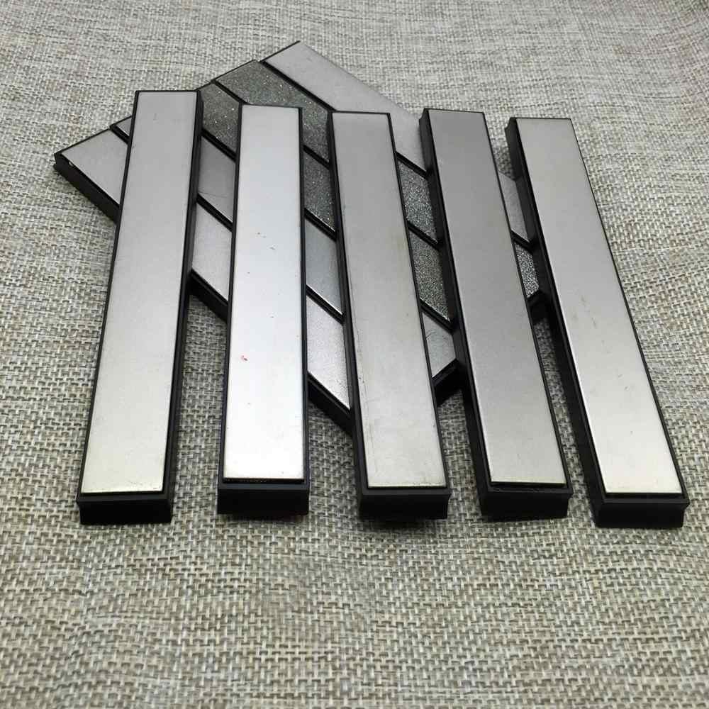 Schleifstein-Werkzeug Polieren Senris Diamant-Schleifsteine grau rechteckig Diamant-Schleifstein 80-3000er K/örnung