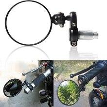 Moto et vélo CNC universels, embout de barre de poignée, pour ducati, brouilleur monster 848, moto et diavel 1098, multistrada 1200, 696