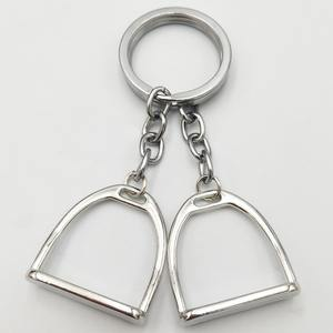 Key-Ring-Hanger-Tool Stirrup Horse-Theme Equestrian Western for Men Women Bag Decoration