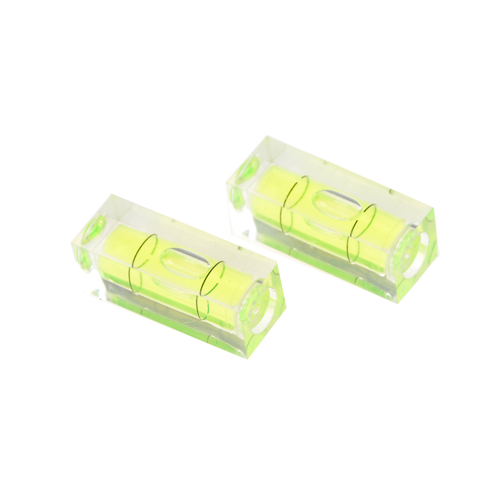 1 Piece Green 15 15 40mm Square Spirit Level Bubble With
