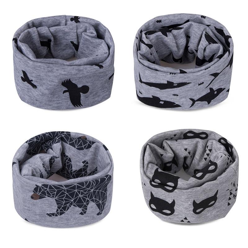 Модный шарф на Шею Зимние теплые Детские шарф из хлопка для обувь девочек мальчиков толстые теплые кольца шарфы женщин дети комфорт Унис