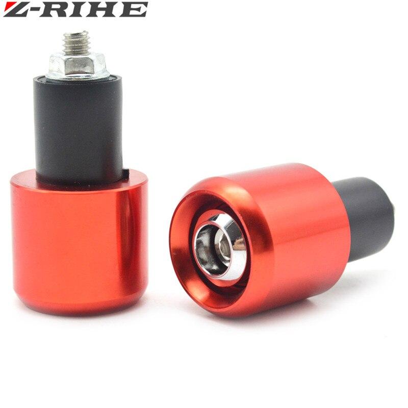 Motorcycle CNC 22MM Handlebar Grips Handle Bar Cap End Plugs For Honda 125 CRF2CRF 250 450R X XT 225 250R XR250 400 600 650 KTM