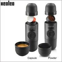 Wacaco Minipresso, Кофеварка, Ручной пресс, капсула и порошок, кофемашина, ручная Эспрессо-машина, портативная, для путешествий, кофе