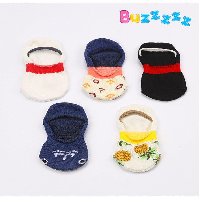 03b852c621038 Cartoon baby socks cotton toddler socks anti slip children baby newborn boy  girl boat socks meias