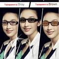 Асферические Фотохромные Линзы Серый или Коричневый цвет изменения Оптических Стекол Близорукость Пресбиопии Чтение Очки Линзами