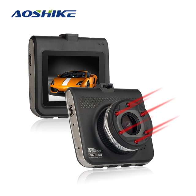 Aoshike 2.4 Inch Car DVR Night Vision Full HD 1080P Dash Camera Auto Video Recorder Camera  Dashcam Registrar Carcam DVRS Mini