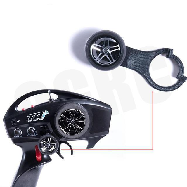 One-hand steering wheel controller One-handed drivin For 1/10 Rc Crawler Car Traxxas Trx4 Ford Bronco Ranger Trx-4 Tactical Unit