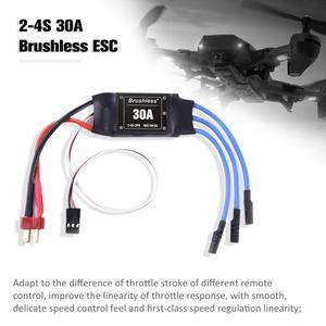 Image 4 - 4PCS 30A ESC 2 4S Lipo Bürstenlosen 30A ESC Mit 5 V/2A BEC Für S500 x500 Quadcopter Sicher poweron funktion Programm Einstellung Artikel