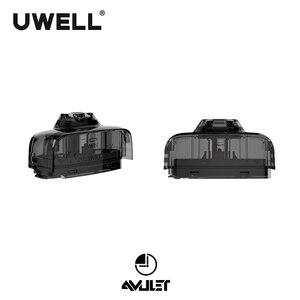 Image 2 - UWELL קמע Pod 5 חבילות 10 Pcs בסך הכל 2ml קיבולת 1.6 אוהם Refillable Pod e סיגריה Vape pod מערכת