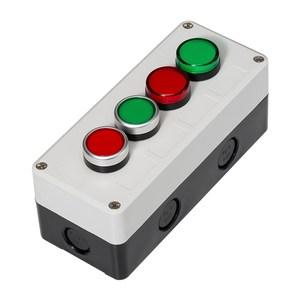 Image 3 - 버튼 스위치 제어 상자 플라스틱 휴대용 자체 시작 버튼 방수 상자 전기 산업 비상 정지 스위치 i