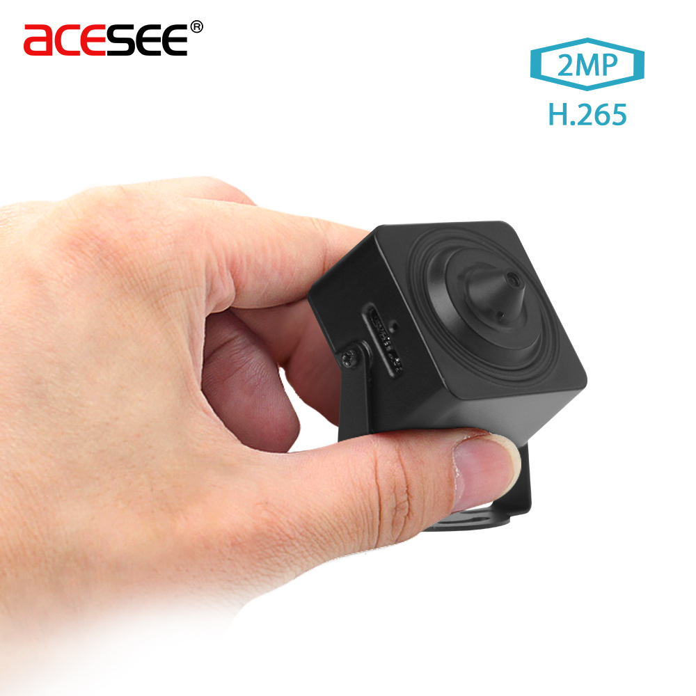 Acesee Sony IMX290 1080P Micro Wifi Home Security Camera POE WIFI IP 2.0MP H.265 3.7mm Lens Wireless Cameras HISILICON 3516CV300
